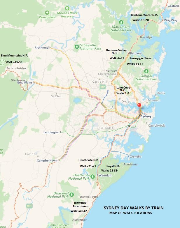 sydney-daywalks-by-train-map-of-walks