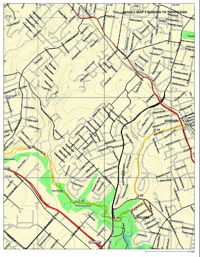 walk-2-map-1-gordon-to-thornleigh
