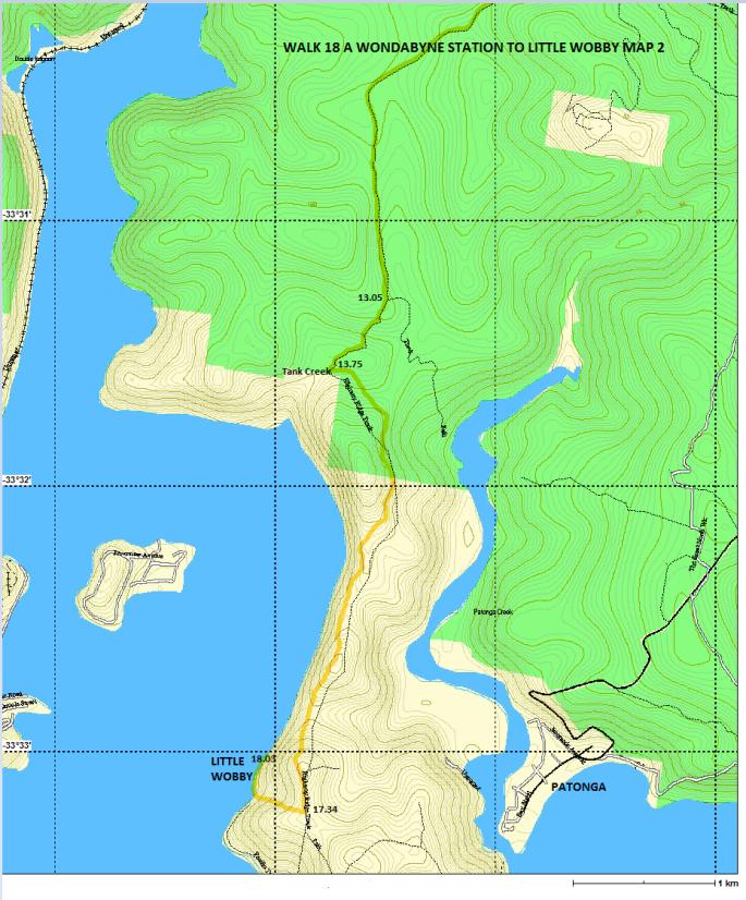 Walk 18A Map 2